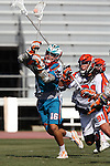 Philadelphia Barrage vs Los Angeles Riptide.Home Depot Center, Carson California.Wes Green (#16) Brian Spallina (# 91).506P8600.JPG.CREDIT: Dirk Dewachter