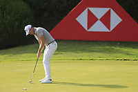 Danny Willett (ENG) on the 8th green during round 1 at the WGC HSBC Champions, Sheshan Golf Club, Shanghai, China. 31/10/2019.<br /> Picture Fran Caffrey / Golffile.ie<br /> <br /> All photo usage must carry mandatory copyright credit (© Golffile | Fran Caffrey)