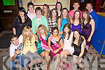 18th: Aine O'Donnell (pictured 3rd from right) from Caherhayes, Abbeyfeale celebrated her 18th birthday last Saturday night in Sullivans Bar, Abbeyfeale.