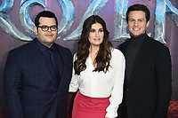 "Josh Gad, Idina Menzel and Jonathan Groff<br /> arriving for the ""Frozen 2"" premiere at the BFI South Bank, London.<br /> <br /> ©Ash Knotek  D3537 17/11/2019"