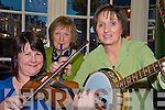 Katie O'Sullivan, Geraldine Guilfioyle and Mary Moriarty, Fleadh Cheoil Ciarrai committee,  pictured as they get in tune for the Fleadh Cheoil which will be held in Killarney from the 16th to 21st June.........