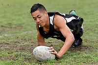 Touch &ndash; CSW Qualifying Tournament at Fraser Park, Lower Hutt, New Zealand on Wednesday 28 February 2018.<br /> Photo by Masanori Udagawa. <br /> www.photowellington.photoshelter.com