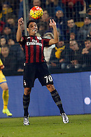 Carlos Bacca   during   Italian Serie A soccer match between Frosinone and AC Milan  at Matusa  Stadium in Frosinone ,December 20  , 2015