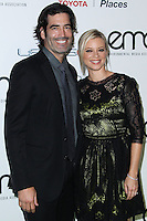 BURBANK, CA - OCTOBER 19: Carter Oosterhouse, Amy Smart at the 23rd Annual Environmental Media Awards held at Warner Bros. Studios on October 19, 2013 in Burbank, California. (Photo by Xavier Collin/Celebrity Monitor)