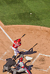7 September 2014: Washington Nationals outfielder Scott Hairston in action against the Philadelphia Phillies at Nationals Park in Washington, DC. The Nationals defeated the Phillies 3-2 to salvage the final game of their 3-game series. Mandatory Credit: Ed Wolfstein Photo *** RAW (NEF) Image File Available ***