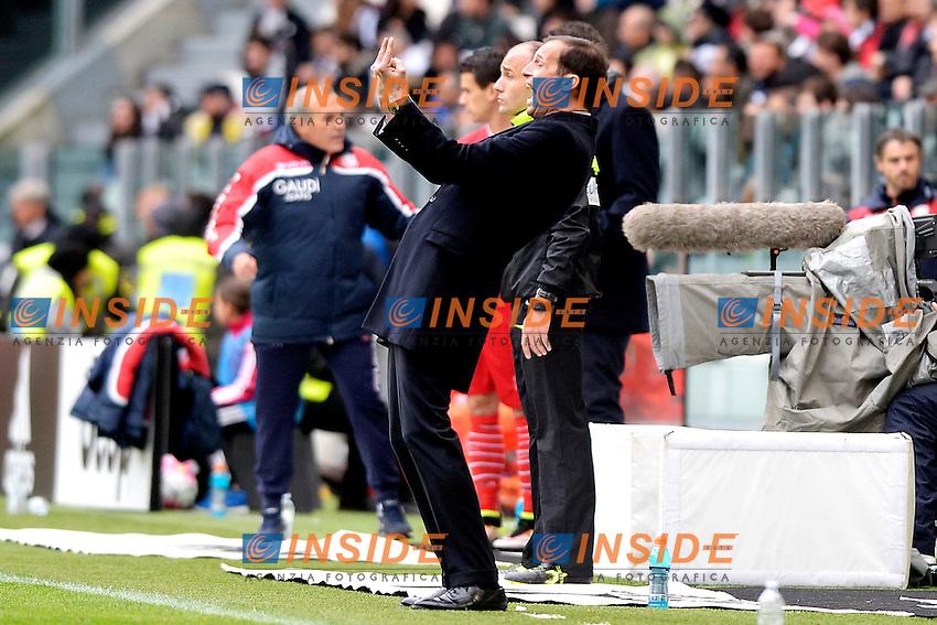 Massimiliano Allegri Juventus <br /> Torino 01-05-2016 Juventus Stadium Football Calcio Serie A 2015/2016 Juventus - Carpi. Foto Filippo Alfero / Insidefoto