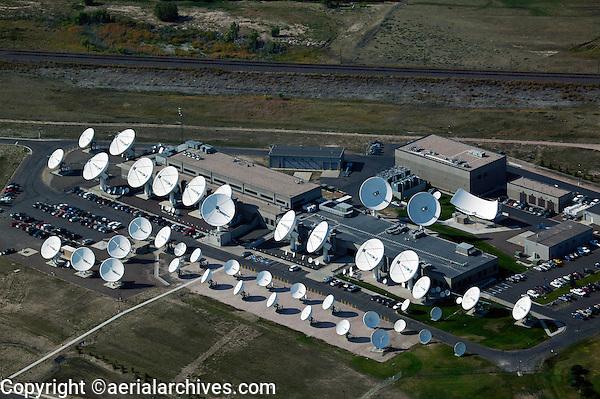 aerial photograph antenna farm Cheyenne, Wyoming
