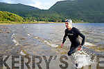 Paul Gosney from Listry training for the Iron Man 'Queen' at the Dundag beach, Killarney last Monday evening.