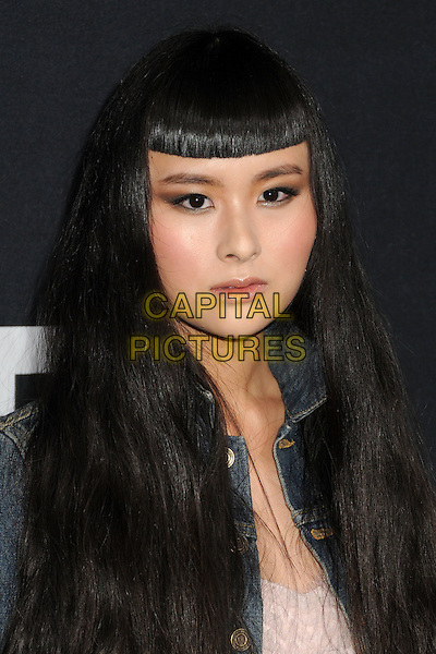 10 February 2016 - Los Angeles, California - Asia Chow. Saint Laurent At The Palladium held at the Hollywood Palladium. <br /> CAP/ADM/BP<br /> &copy;BP/ADM/Capital Pictures