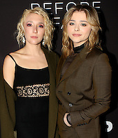 www.acepixs.com<br /> <br /> March 1 2017, LA<br /> <br /> (L-R) Actresses Madelyn Deutch and Chloe Grace Moretz arriving at the premiere of 'Before I Fall' at the Directors Guild Of America on March 1, 2017 in Los Angeles, California.<br /> <br /> By Line: Nancy Rivera/ACE Pictures<br /> <br /> <br /> ACE Pictures Inc<br /> Tel: 6467670430<br /> Email: info@acepixs.com<br /> www.acepixs.com