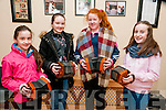Felie Feabhra: Pictured at the annual Feile Feabhra organised by the Lixnaw branch of CCE at the Ceolan Centre, Lixnaw on Saturday last were concertina players Isavella Bright, Clodagh McElligott, Ciara Walsh & Sinead Behan.