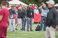 Stanford, CA - March 23, 2017: The Stanford Cardinal Pro Day.