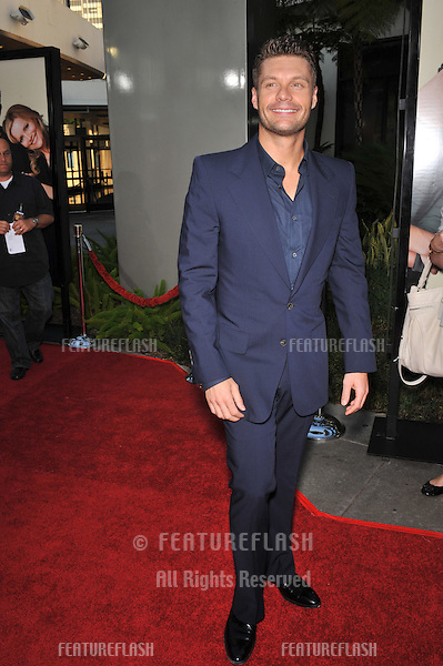"Ryan Seacrest at the world premiere of ""Funny People"" at the Arclight Theatre, Hollywood..July 20, 2009  Los Angeles, CA.Picture: Paul Smith / Featureflash"