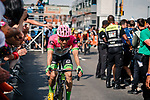 Michael Woods (CAN) EF Education First-Drapac-Cannondale finishes 2nd at the end of the 2018  Liège-Bastogne-Liège, Belgium, 22 April 2018, Photo by Pim Nijland / PelotonPhotos.com | All photos usage must carry mandatory copyright credit (Peloton Photos | Pim Nijland)