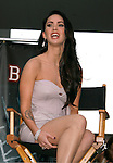 """HOLLYWOOD, CA. - September 16: Megan Fox answers questions at """"Jennifer's Body"""" Hot Topic Fan Event at Hot Topic on September 16, 2009 in Hollywood, California."""