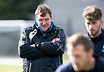 St Johnstone Training&hellip;.Manager Tommy Wright pictured during training at McDiarmid Park ahead of Sundays game against Celtic.<br />