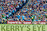 during the GAA Football All-Ireland Senior Championship Final match between Kerry and Dublin at Croke Park in Dublin on Sunday.