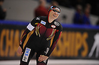 SCHAATSEN: HEERENVEEN: IJsstadion Thialf, 12-02-15, World Single Distances Speed Skating Championships, 3000m Ladies, Claudia Pechstein (GER), ©foto Martin de Jong
