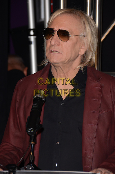 04 February  - Hollywood, Ca - Joe Walsh. Vince Gill induction into Guitar Center's Historic Rockwalk held at Guitar Center.  <br /> CAP/ADM/BT<br /> &copy;BT/ADM/Capital Pictures