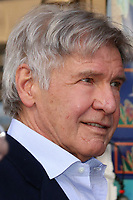 LOS ANGELES - MAR 8:  Harrison Ford at the Mark Hamill Star Ceremony on the Hollywood Walk of Fame on March 8, 2018 in Los Angeles, CA