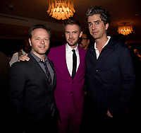 "LOS ANGELES, CA - APRIL 2: Creator/Executive Producer/Writer/Director Noah Hawley, Dan Stevens, and Hamish Linklater attend the party for the season two premiere of FX's ""Legion"" at the Soho House on April 2, 2018 in Los Angeles, California. (Photo by Frank Micelotta/FX/PictureGroup)"