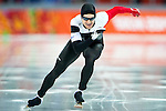 Jamie Gregg of Canada compete during the Short Track Speed Skating as part of the 2014 Sochi Olympic Winter Games at Iceberg Skating Palace on February 10, 2014 in Sochi, Russia. Photo by Victor Fraile / Power Sport Images