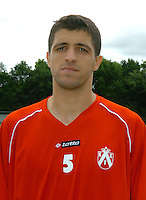 KV Kortrijk eerste training..Karim Belhocine..fotos DAVID CATRY/VDB