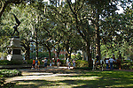 Madison Square was first laid out in 1837 and named after President James Madison.  Sometimes called Jasper Square for the statue of William Jasper, a soldier of the Savannah Armory who died during the siege of Savannah of 1779.