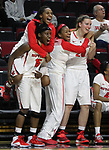 Rutgers women's basketball beat Davidson College 100-44 at the Louis Brown Athletic Center in Piscataway. <br /> <br /> <br /> <br /> <br /> On Sunday November 30,2014<br /> Photo: Mark R. Sullivan/Staff Photographer