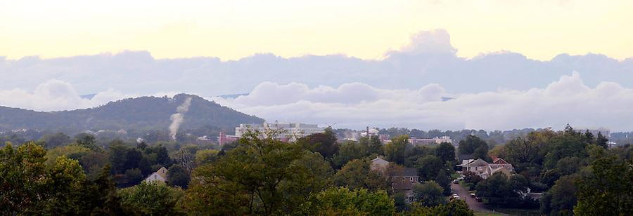 Charlottesville cityscape in Albemarle County, VA. Photo/Andrew Shurtleff