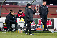 8th February 2020; Dens Park, Dundee, Scotland; Scottish Championship Football, Dundee versus Partick Thistle; Partick Thistle manager Ian McCall