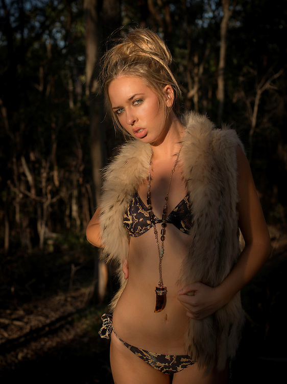 Anja from Mystique Model Management Photoshoot in Whites Hill Reserve, Brisbane, Queensland, Australia, Friday, March 18, 2016.<br /> Photo - @John Pryke Photographer<br /> Styling - Sandra Carvalho stylist<br /> MUA - @Danielle Rusko Makeup Artist