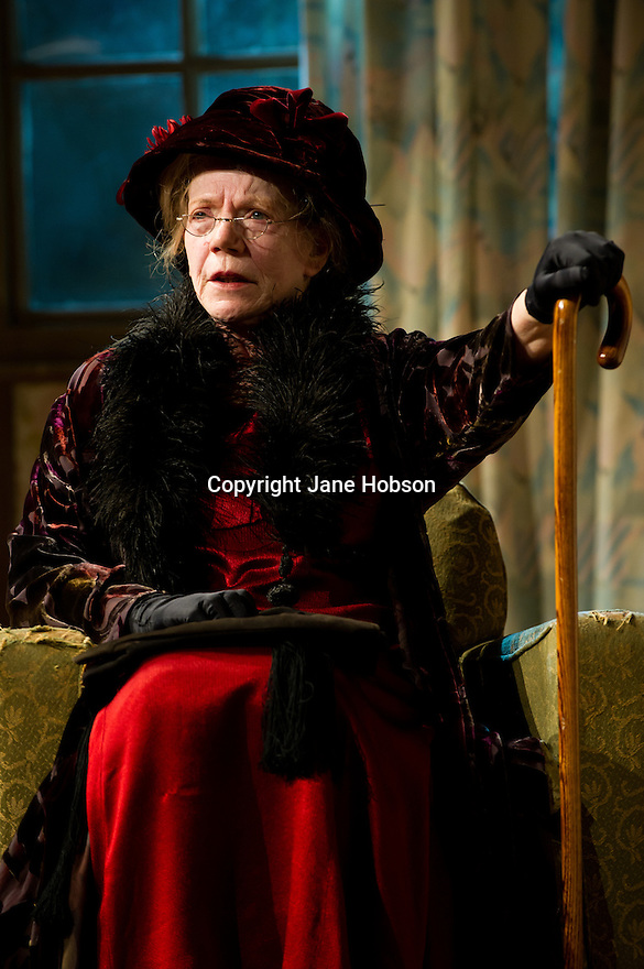 "Bath, Avon, UK. 25/07/2011. ""This Happy Breed"", by Noel Coward and directed by Stephen Unwin, opens in the Peter Hall Season at Theatre Royal Bath. Marjorie Yates as Mrs Flint, the mother-in-law. Photo credit: Jane Hobson"