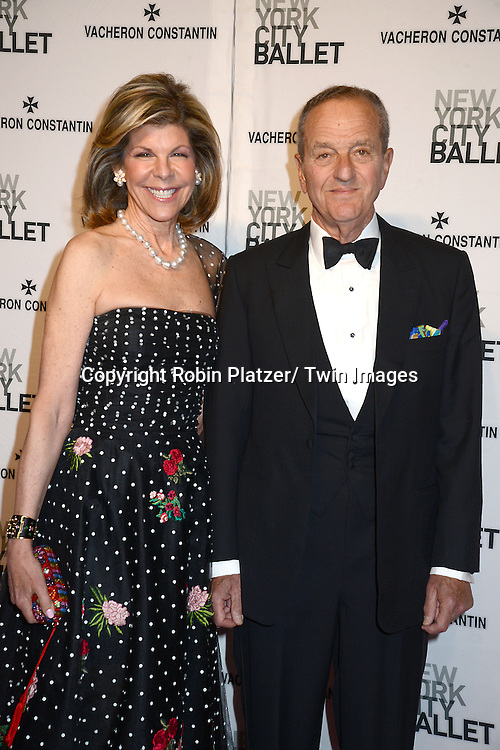 Jamee Gregory and Peter Gregory attends the New York City Ballet Spring 2014 Gala on May 8, 2014 at David Koch Theatre in Lincoln Center in New York City, NY, USA.