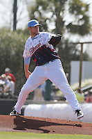 Myrtle Beach Pelicans pitcher Phil Klein #21 on the mound during a game against the Wilmington Blue Rocks at Ticketreturn.com Field at Pelicans Ballpark on April 7, 2013 in Myrtle Beach, South Carolina. Wilmington defeated Myrtle Beach 7-2. (Robert Gurganus/Four Seam Images)