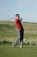 Ian Lynch (Rosslare) during round 1 of The West of Ireland Amateur Open in Co. Sligo Golf Club on Friday 18th April 2014.<br /> Picture:  Thos Caffrey / www.golffile.ie