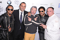 MIAMI, FL - NOVEMBER 08: Dallas Austin, Sam Nazarian, Philippe Starck, Lenny Kravitz and Jose Andres arrives at Grand Opening of SLS Hotel South Beach at SLS South Beach on November 8, 2012 in Miami, Florida. © MPI10/MediaPunch Inc /NortePhoto