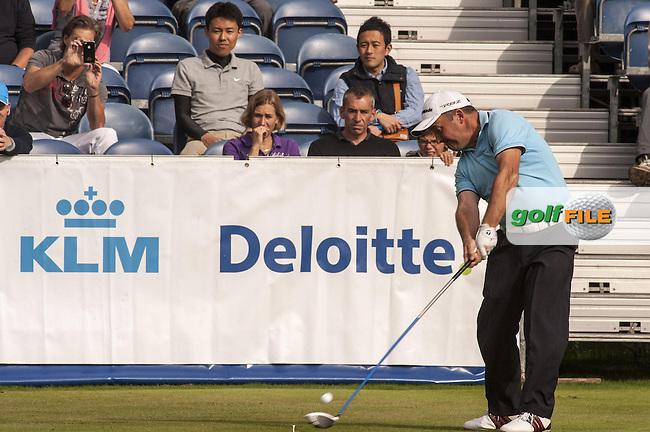 08-09-12 European Tour 2012, KLM Open, Hilversumsche Golf, Hilversum, The Netherlands. 06-09 Sep. Damien  McGrane of Ireland during the third round. / Deloitte.Picture: golfsupport/golffile.ie.