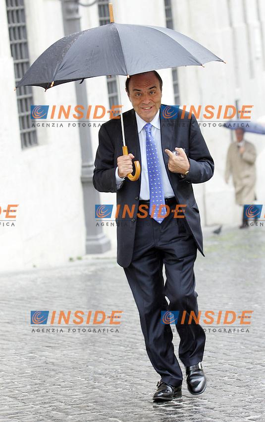BRUNO VESPA<br /> Roma 27/04/2010 Relazione annuale del Presidente dell'INPS alla Sala della Lupa a Montecitorio.<br /> Photo Samantha Zucchi Insidefoto