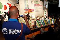 NAPOLI 15/06/2012 CONFERENZA NAZIONALE PER IL LAVORO DEL PARTITO DEMOCRATICO.NELLA FOTO  OPERASI IRIBUS.FOTO CIRO DE LUCA.