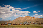 Historic gold mining ghost town of Bodie, California, a California State Park