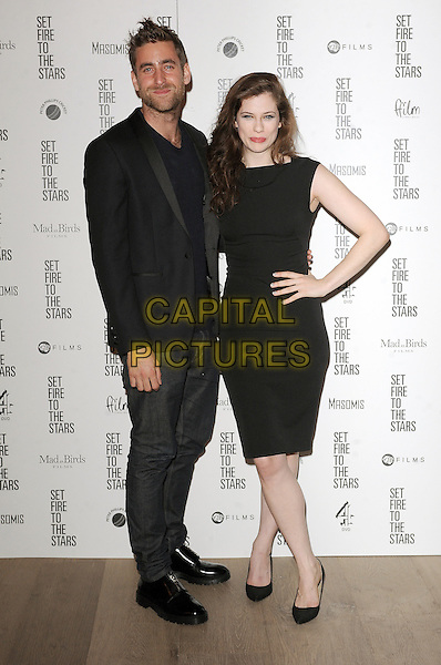 LONDON, ENGLAND - OCTOBER 28: Oliver Jackson-Cohen and Jessica De Gouw attend the UK Premiere of Set Fire To The Stars at The Ham Yard Hotel on October 28, 2014 in London, England.<br /> CAP/BEL<br /> &copy;Tom Belcher/Capital Pictures