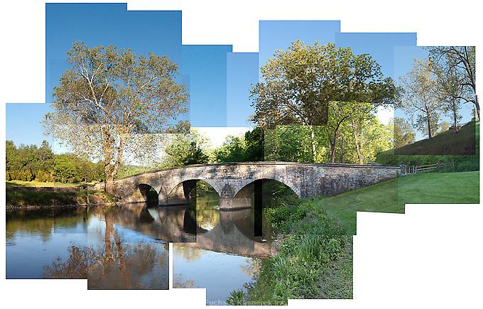 Burnside Bridge on the Antietam National Military Battlefield.