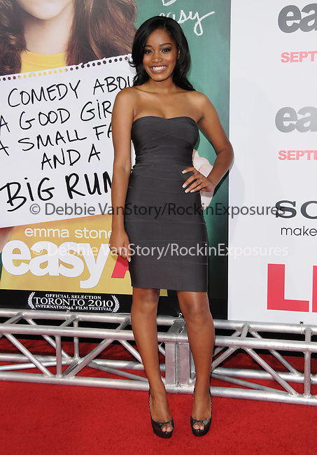 "Keke Palmer at the Screen Gems' L.A. Premiere of ""Easy A"" held at The Grauman's Chinese Theatre in Hollywood, California on September 13,2010                                                                               © 2010 Hollywood Press Agency"