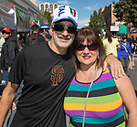 Tom and Becky from Santa Rosa, CA during the Italian Festival in downtown Reno on Saturday, Oct. 7, 2017.