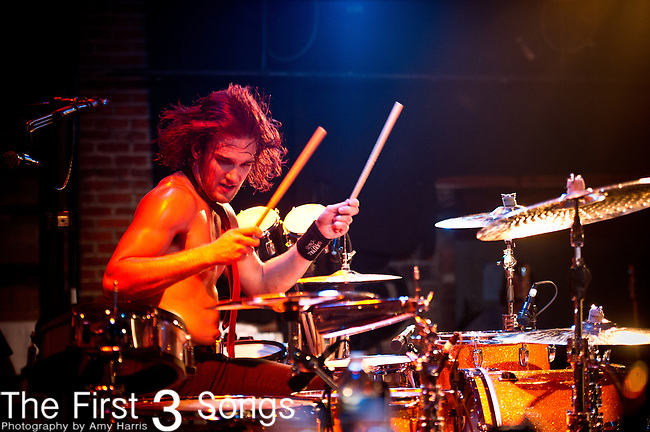Arejay Hale of Halestorm performs at Bogarts in Cincinnati, Ohio.