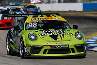 #98 Mark Motors Racing, Porsche 991 / 2017, GT3CP: Zacharie Robichon
