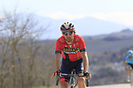 Antonio Nibali (ITA) Bahrain-Merida on sector 8 Monte Santa Maria during Strade Bianche 2019 running 184km from Siena to Siena, held over the white gravel roads of Tuscany, Italy. 9th March 2019.<br /> Picture: Eoin Clarke | Cyclefile<br /> <br /> <br /> All photos usage must carry mandatory copyright credit (&copy; Cyclefile | Eoin Clarke)