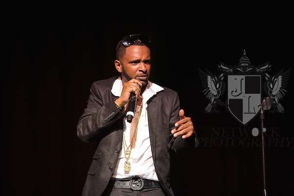 MIAMI, FL - MAY 26: Actor / comedian Shawty Shawty performs at the 6th Annual Memorial Day Weekend Comedy Festival at James L. Knight Center on May 26, 2013 in Miami, Florida. (Photo by Johnny Louis/jlnphotography.com)