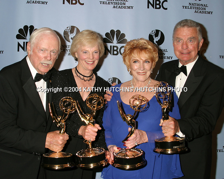 ©2004 KATHY HUTCHINS /HUTCHINS PHOTO.DAYTIME EMMYS.NEW YORK CITY, NY.MAY 21, 2004..JOHN CLARKE.RACHEL AMES.JEANNE COOPER.RAY MAC DONNELL